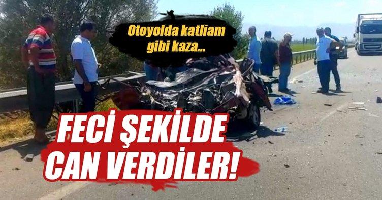 Erzincan'da trafik kazası: 3 ölü