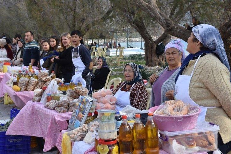Badem Çiçeği Festivali'ne yerli turist akını