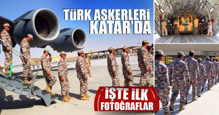 Son dakika... Türk askeri Katar'a giriş yaptı