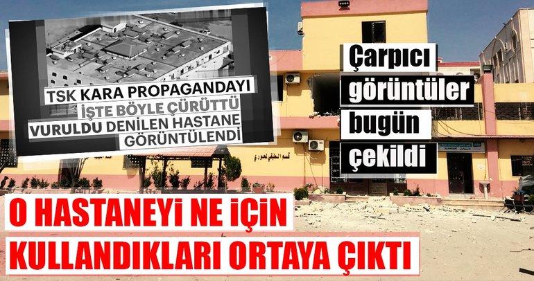 Son Dakika Haberi: PKK'lılar hastaneyi bile bomba ile tuzaklamışlar