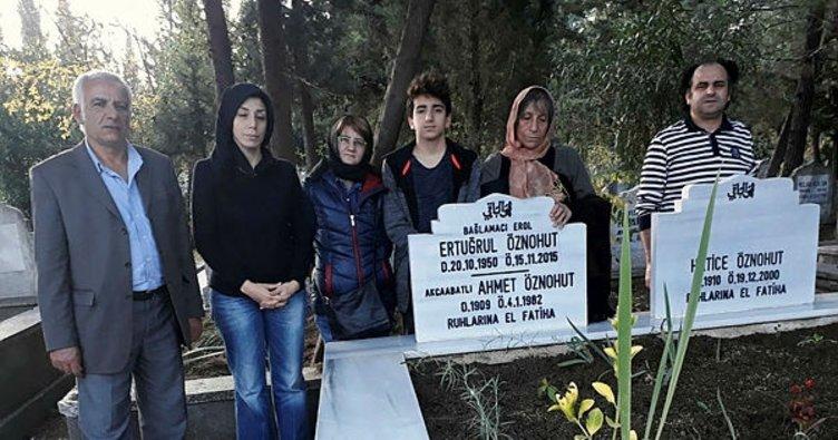 Samsunlu saz ustası mezarı başında anıldı