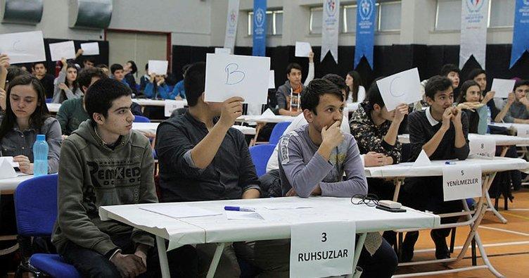 Gençlik Merkezi'nde bilgi yarışması