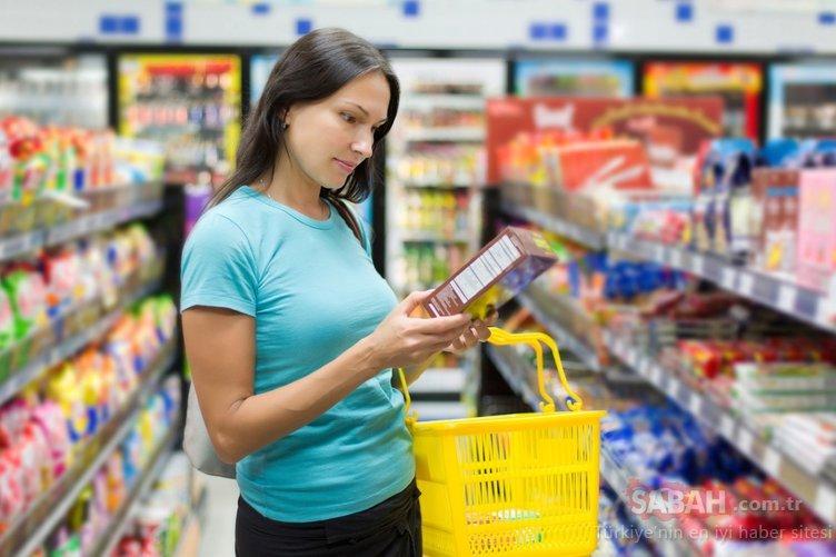 Kara listedeki katkılı ürünlere dikkat