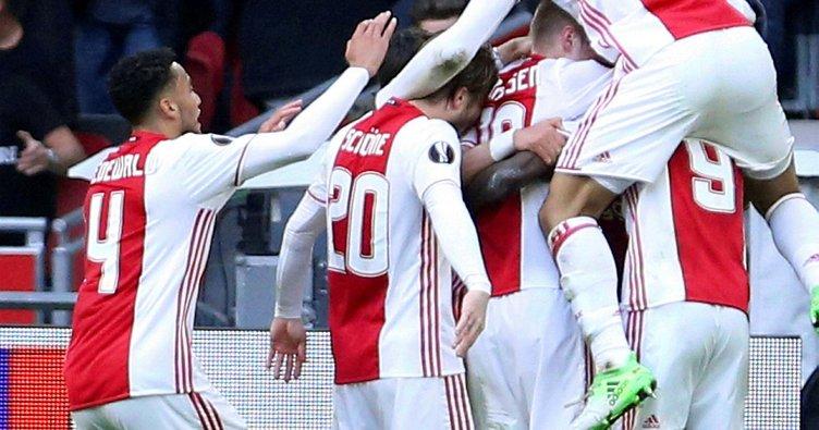 Ajax, Lyon'u gole boğdu!