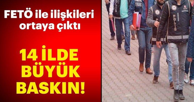 Son dakika: İstanbul merkezli 14 ilde FETÖ operasyonu: 52 kişi hakkında gözaltı kararı