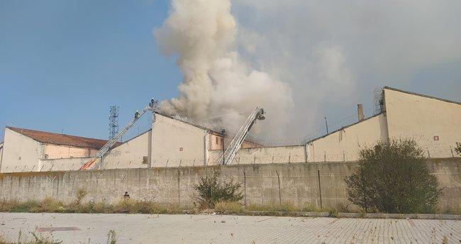 Kütahya E Tipi Cezaevinde korkutan yangında flaş detay