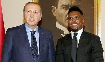 Samuel Eto'o Cumhurbaşkanı Erdoğan'ı yakından tanıyorum