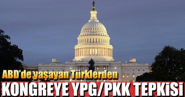 ABD'deki Türklerden Kongre'ye YPG/PKK tepkisi