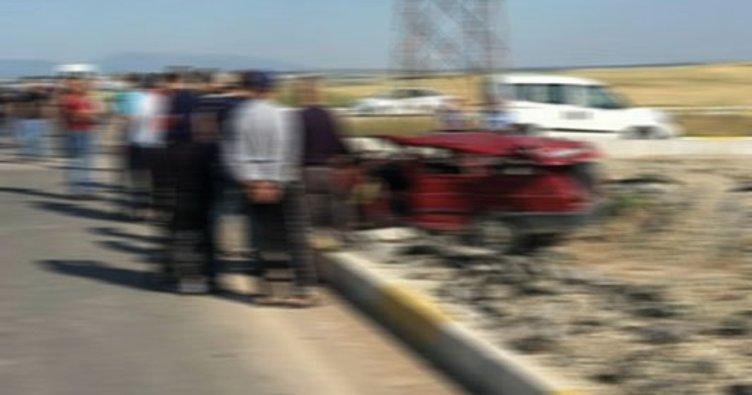 Tatil yolunda trafik kazası: 1 ölü, 2 yaralı