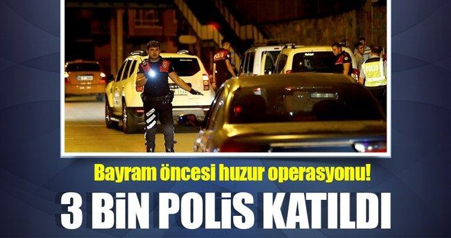 Ankara'da bayram öncesi huzur operasyonu