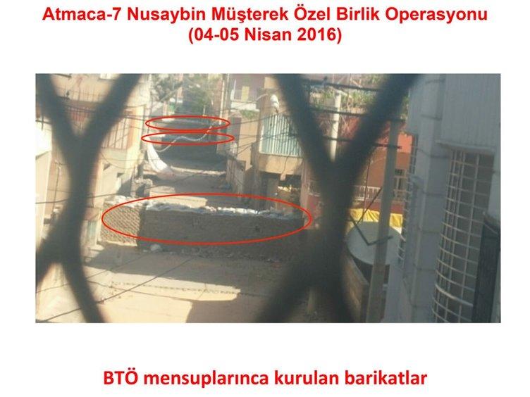 Nusaybin'de patlayıcılar özel birlik tarafından tespit edilerek, imha ediliyor