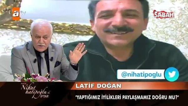 Latif Doğan'dan Nihat Hatipoğlu'na