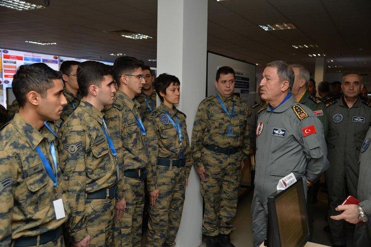 Genelkurmay Başkanı 'Volkan 2016 Tatbikatı''nı izledi!