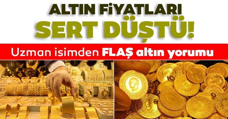 SON DAKİKA HABERİ   Altın fiyatları sert düşüş gösterdi! Uzman isimden çarpıcı altın yorumu: Altın fiyatları düşecek mi yükselecek mi?