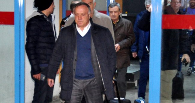 Fenerbahçe, Trabzon'a geldi