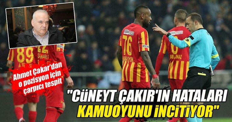 Ahmet Çakar: İlk gol ofsayttı