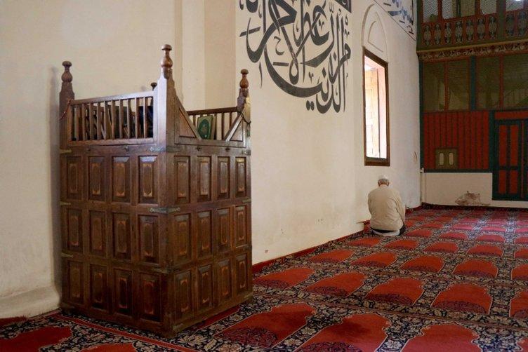 Hacı Bayram-ı Veli'nin hatırasına saygı tarihi camide yaşıyor
