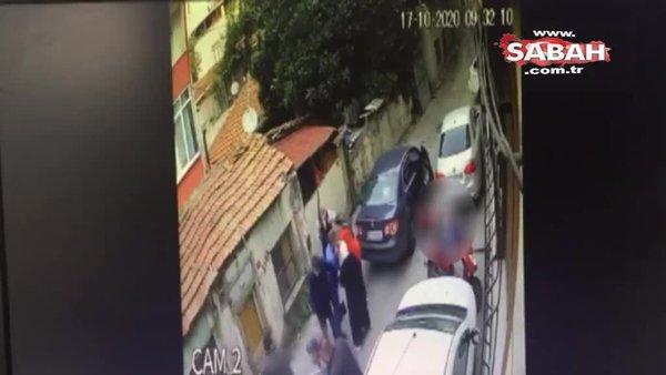 İki aile arasında silahlı kavga! Belinden çıkardığı silahla akrabalarına böyle ateş etti | Video