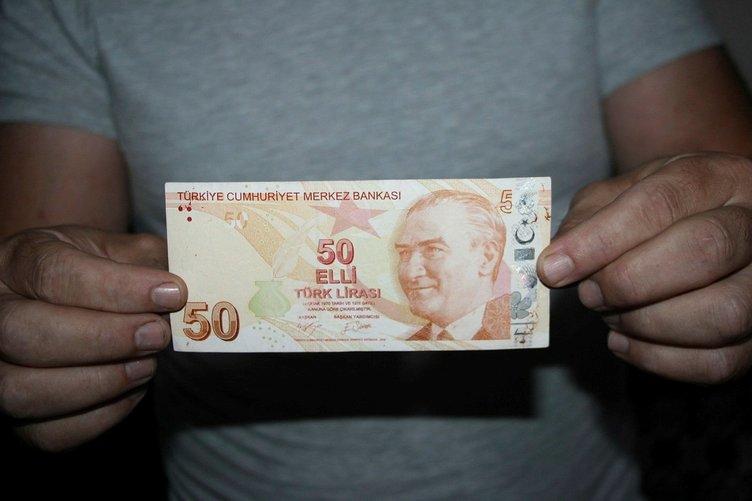 50 lirasına 75 bin lira istiyor