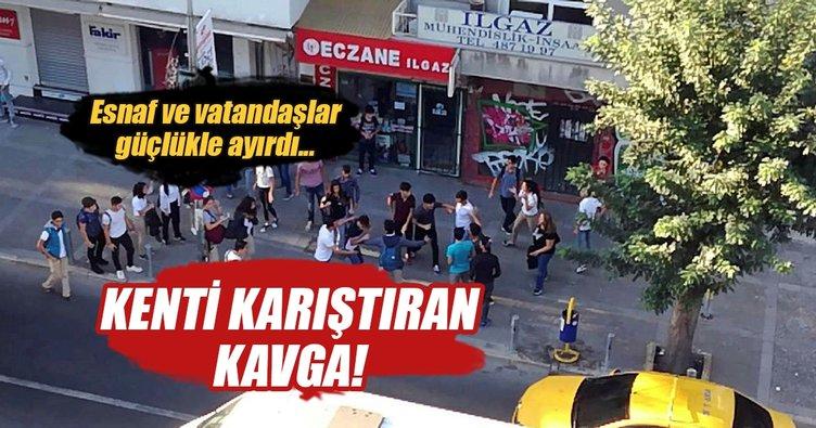 İzmir'i karıştıran liseli kavga!
