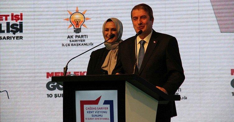 Salih Bayraktar, Sarıyer için projelerini açıkladı