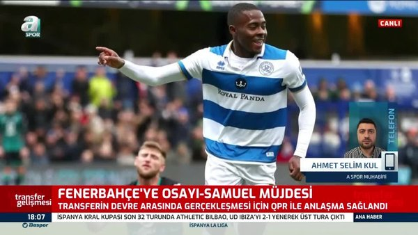 Fenerbahçe'ye Osayi-Samuel müjdesi!