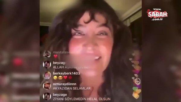 Canlı yayını kapattığını sanan şarkıcı Sıla'nın panik anları kameraya böyle yansıdı | Video