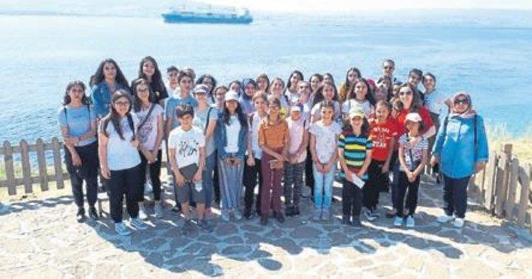 Başarılı öğrenciye Çanakkale gezisi