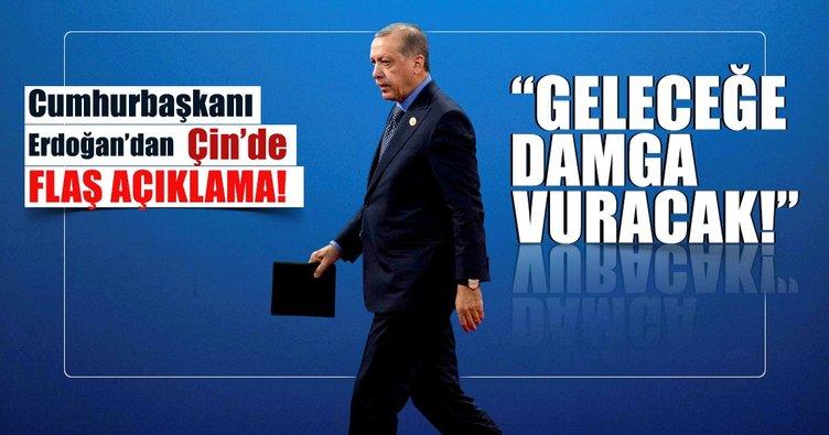 Erdoğan: Yeni İpek Yolu' terörü yerle yeksan edecek bir girişimdir