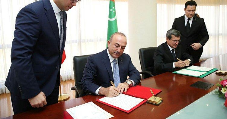 Türkmenistan ile 2019-2020 işbirliği planı imzalandı