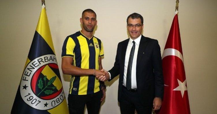 Son dakika: Islam Slimani resmen Fenerbahçe'de