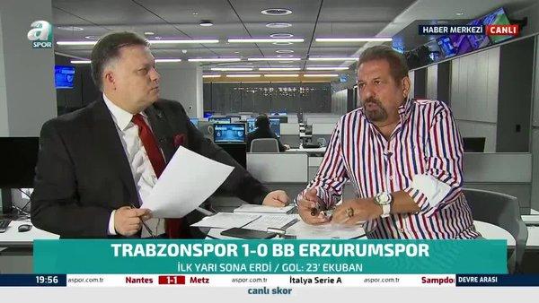 Trabzonspor - BB Erzurumspor maçında iptal edilen golde karar doğru mu? Erman Toroğlu yorumladı
