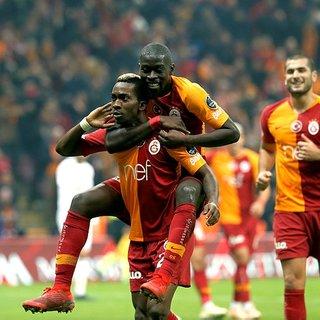 Süper Lig'in ilk yarısında Galatasaray