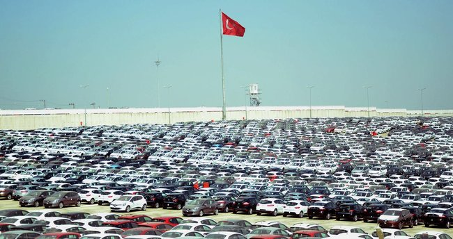 Otomotiv ihracatı yüzde 10 arttı!