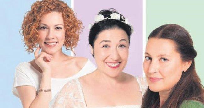 Üç kadının trajikomik öyküsü ilk kez tiyatroda