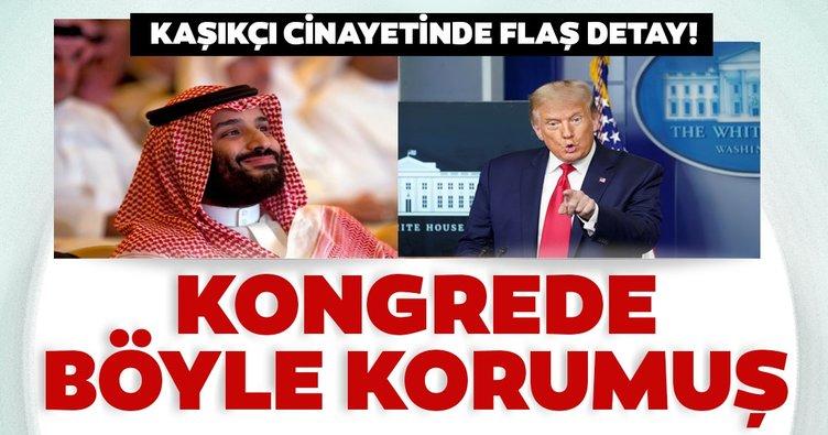 Trump, Kaşıkçı cinayetinde Suudi Veliaht Prensi korumuş