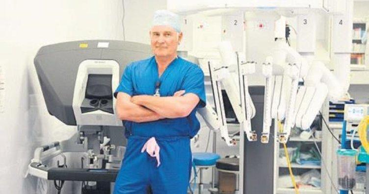 Prostat kanserine karşı cerrah robot