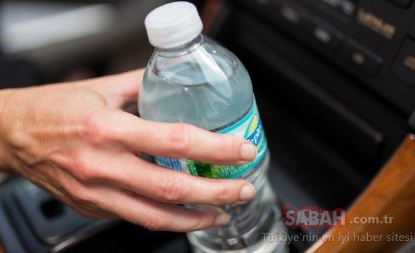 Pet şişeyi sakın arabada böyle bırakmayın! Yoksa...