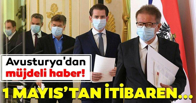 Avusturya'dan coronavirüs ile ilgili müjdeli haber! 1 Mayıs'tan itibaren...