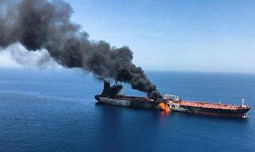 """ABD Dışişleri Bakanı Pompeo: """"Umman Denizi'ndeki saldırıların arkasında Tahran var"""""""