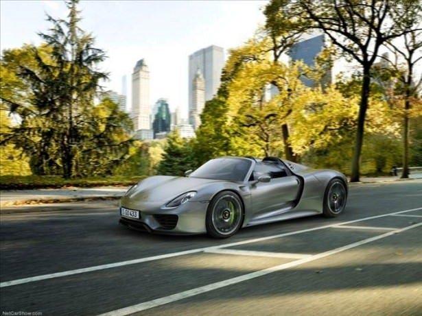 Porsche 918 Spyder son kez üretildi