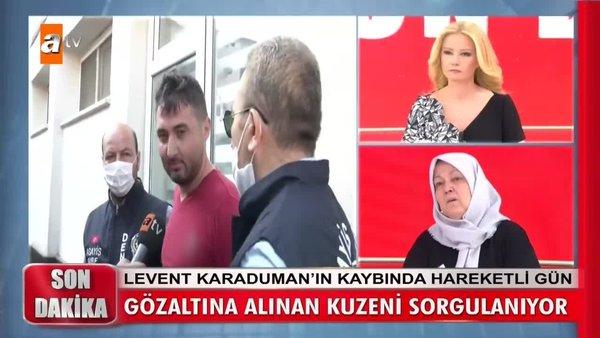 Son dakika: Müge Anlı'da Levent Karaduman cinayetinde şok gözaltı! Canlı yayında o görüntüleri... | Video