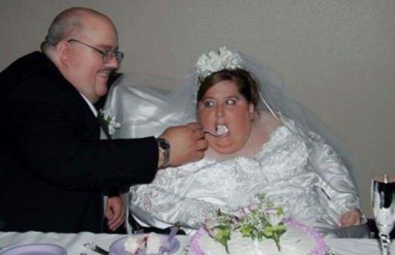 En komik düğün fotoğrafları!
