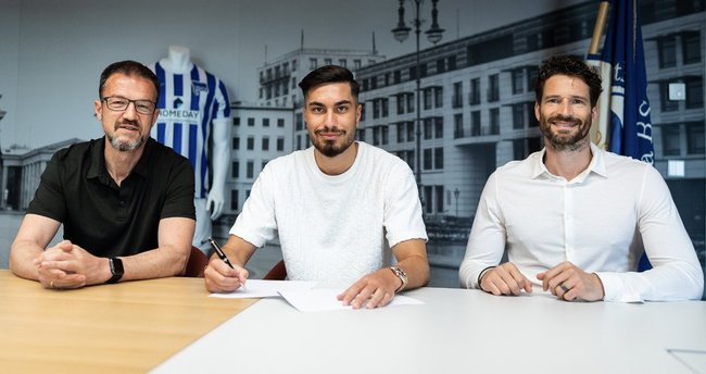 Süper Lig ekiplerinin gözdesi Suat Serdar Hertha Berlin'e transfer oldu!