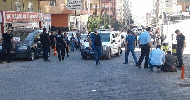 Mardin'de kavga: 1'i polis, 4 yaralı