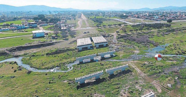 Bergama'ya çevre yolu