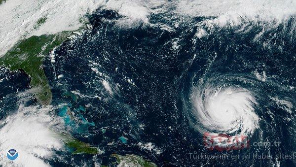 Amerika'da Florence alarmı! 1 milyon kişi tahliye ediliyor