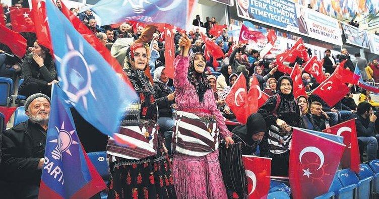 AK Parti'nin yerel seçim sloganı: Birlikte yönetelim