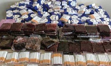 Bolu'da 4 tona yakın kaçak tütün ele geçirildi