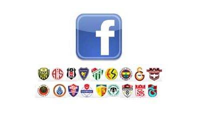 Futbol takımlarının Facebook'taki hayran sayısı